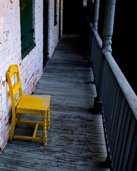 yellowchair